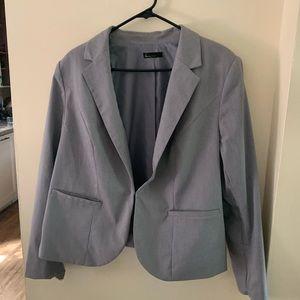 Plus women's work suit, blazer AND pants